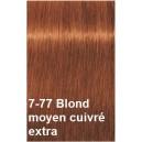 Crème de coloration 7-77 blond moyen cuivré extra