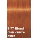 Crème de coloration 8-77 Blond clair cuivré extra
