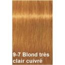 Crème de coloration 9-7 blond très clair cuivré