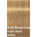 Crème de coloration 9-55 blond très clair extra