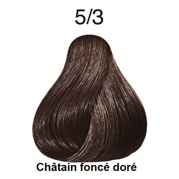 Coloration koleston perfect wella professionals prod - Chatain fonce dore ...