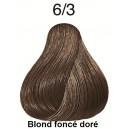 Koleston perfect 6/3 blond foncé doré