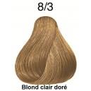 Koleston perfect 8/3 blond clair doré