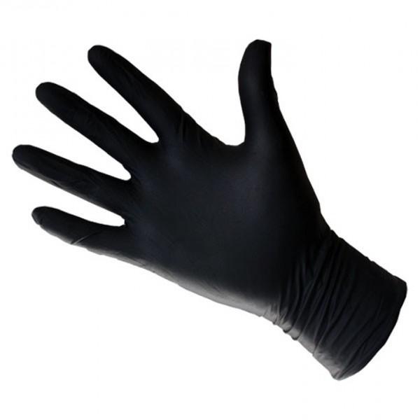 Paire de gants latex noir