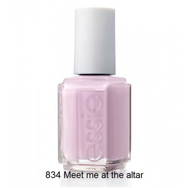 Essie meet me at the altar N° 834