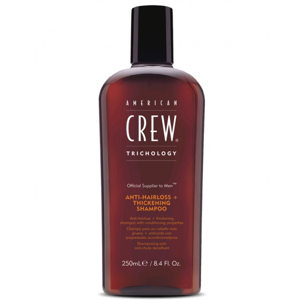 American Crew Anti-hair loss + thickening shampoo 250 ml
