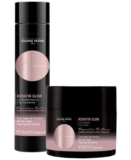 Eugene Perma Cure Keratin Glow Shampooing 250 ml + Masque 150 ml