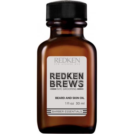 Redken Brews Huile Visage et Brabe 30 ml