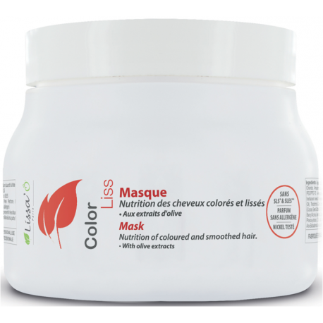 Lissa'o Masque Color Liss 250 ml