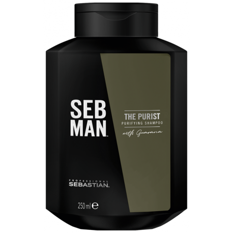 Sebastian seb man the purist shampooing purifiant 250 ml