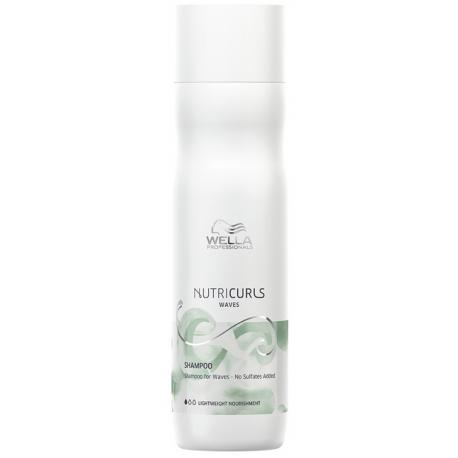 Wella Nutricurls Shampooing pour cheveux ondulés 250 ml
