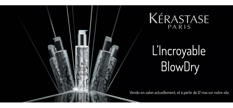 L'innovation Blow Dry de Kérastase, lait miracle thermo-repositionnable.